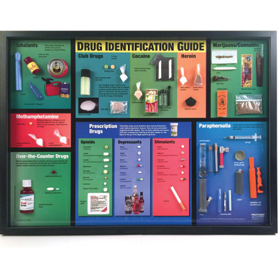 Drug Identification Guide for health education, drug abuse education materials and products, Health Edco, 79216